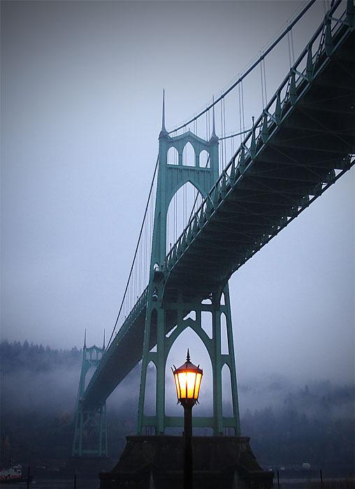 St Johns Bridge Portland Oregon